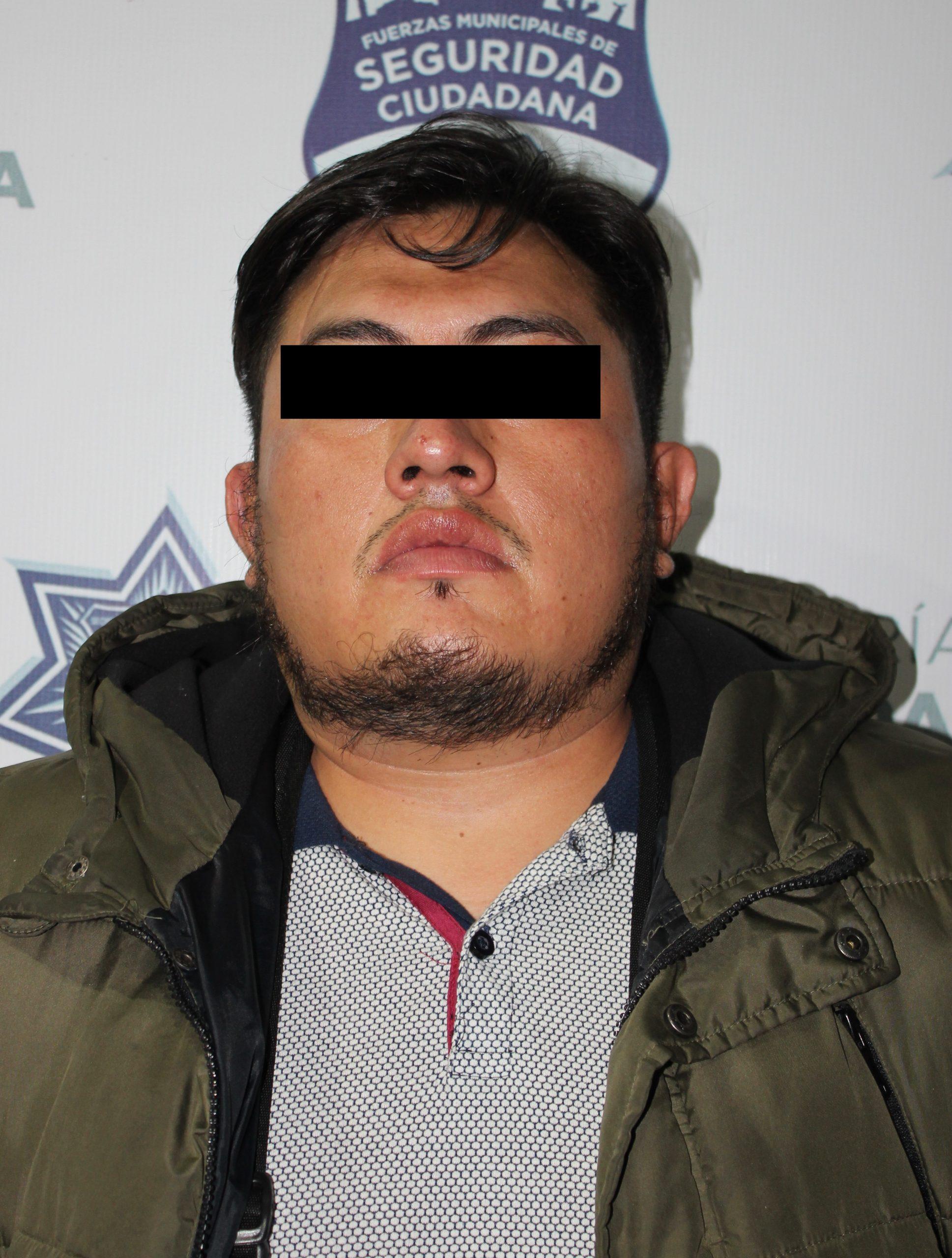 Exitosamente detuvo Policía Municipal de Puebla a tres probables asaltantes.