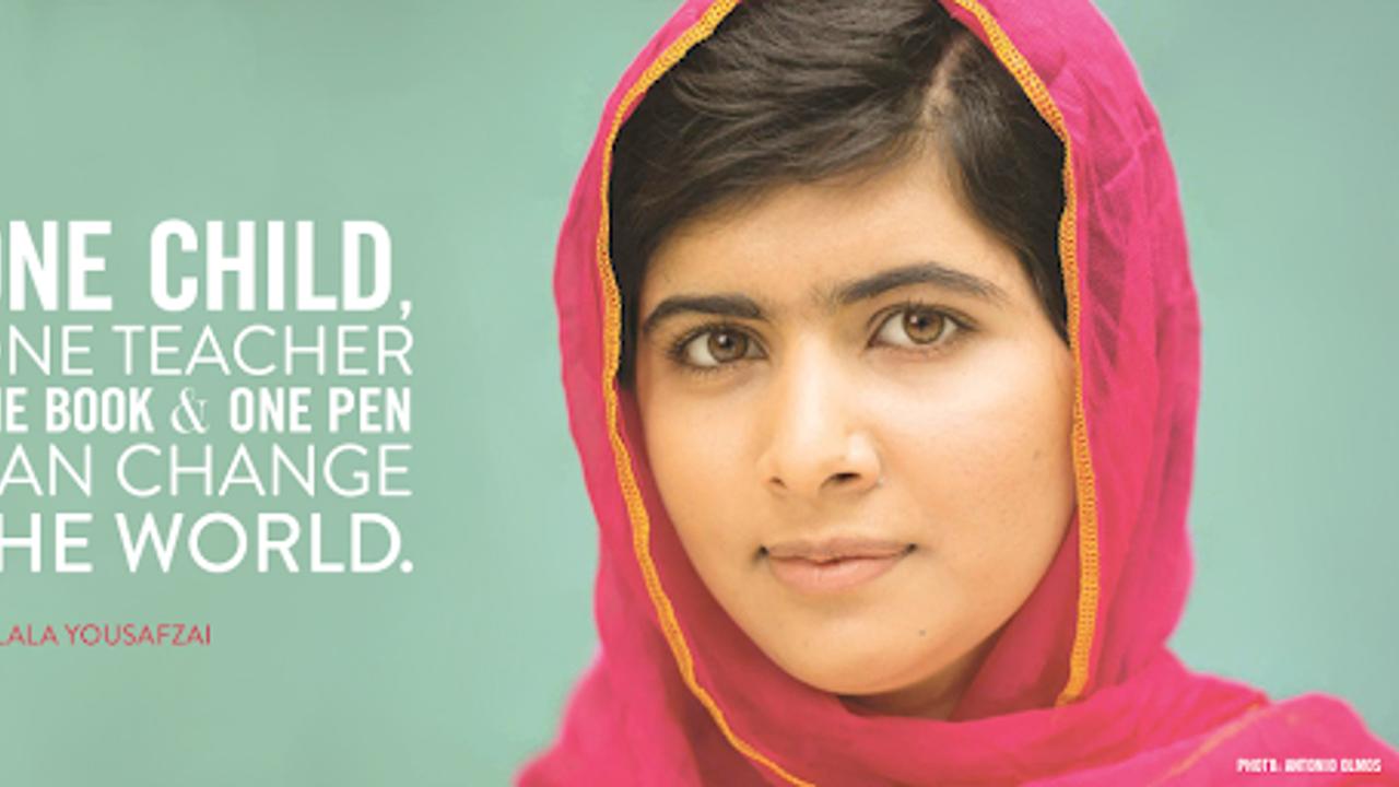 Malala Yousafzai llama a ser agentes del cambio en favor de la educación de mujeres y niñas