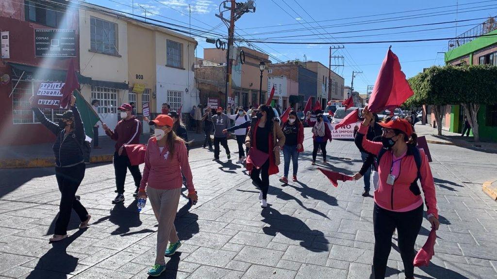 Reséndiz Lara inicia con marcha marcha a la Ciudad de México, movimiento por la paz, la unidad, la legalidad y la dignidad del pueblo potosino