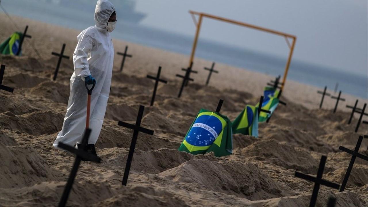 Brasil acumula más de 10 millones de casos de COVID-19