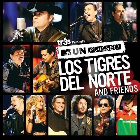 """Se cumplen 10 años de la grabación del disco """"Tr3s Presents MtV Unplugged Los Tigres del Norte and Friends"""""""