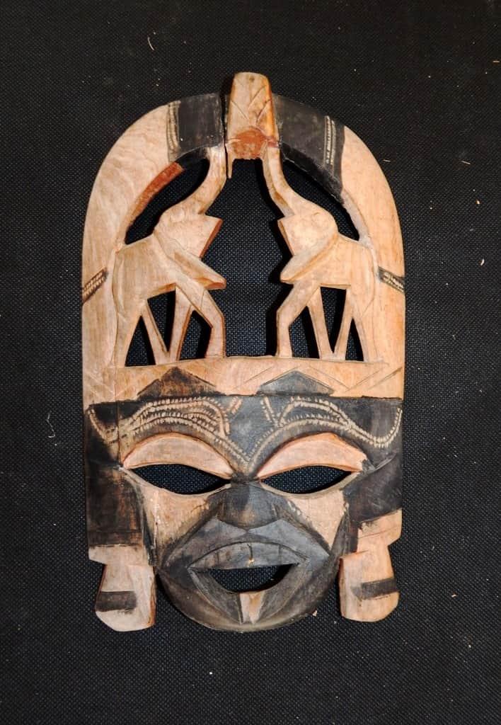 Máscaras de África en el Museo Nacional de la Máscara