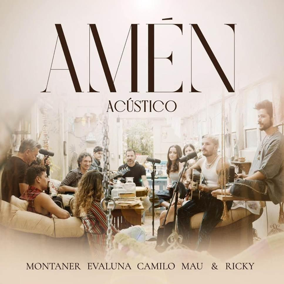 """Este jueves 18 de febrero los Montaner lanzan la versión acústica de """"Amén"""""""