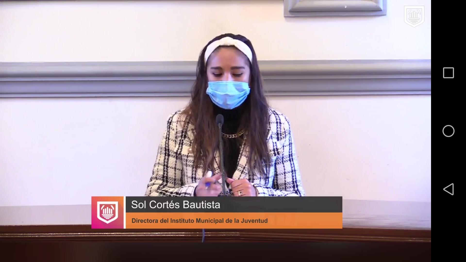 Video desde Puebla: IMJ atiende a jóvenes con problemas de ansiedad y síntomas de depresión por contingencia, alertó Sol Cortés