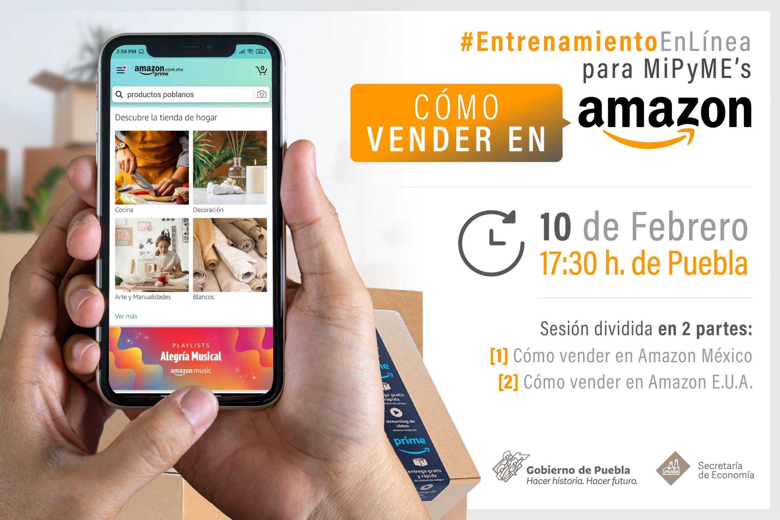 Desarrollarán Secretaría de Economía y Amazon taller en línea
