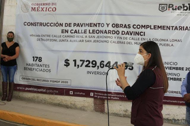 En el día mundial de la Justicia Social, Ayuntamiento de Puebla entrega obras al norte del municipio