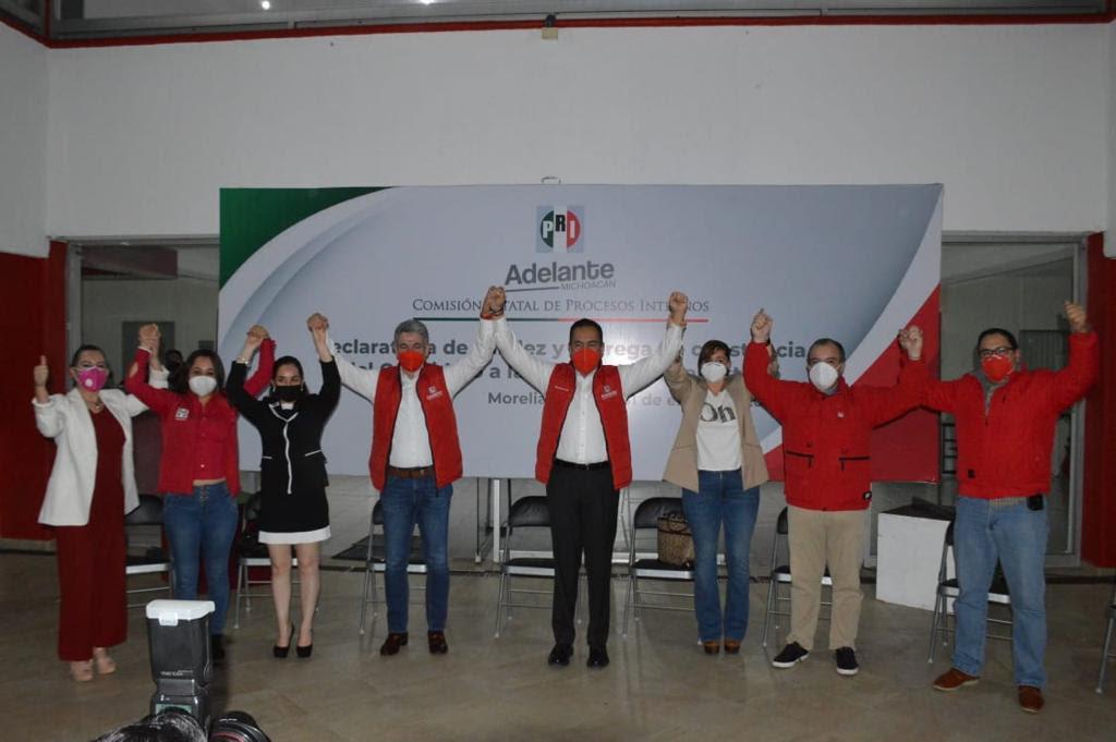 Carlos Herrera es el candidato del PRI al gobierno de Michoacán