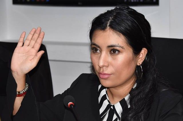 Nora Merino amaga con revocar el mandato de Claudia Rivera