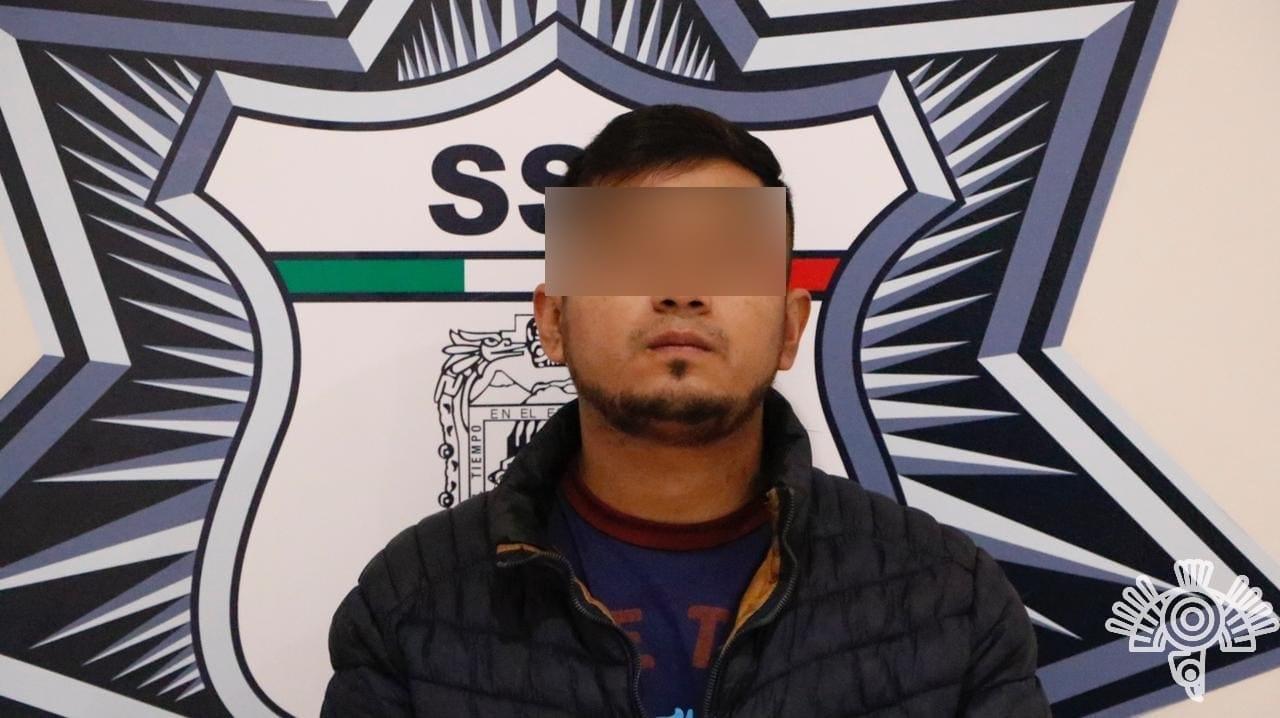 Captura Policía Estatal a presunto narcomenudista