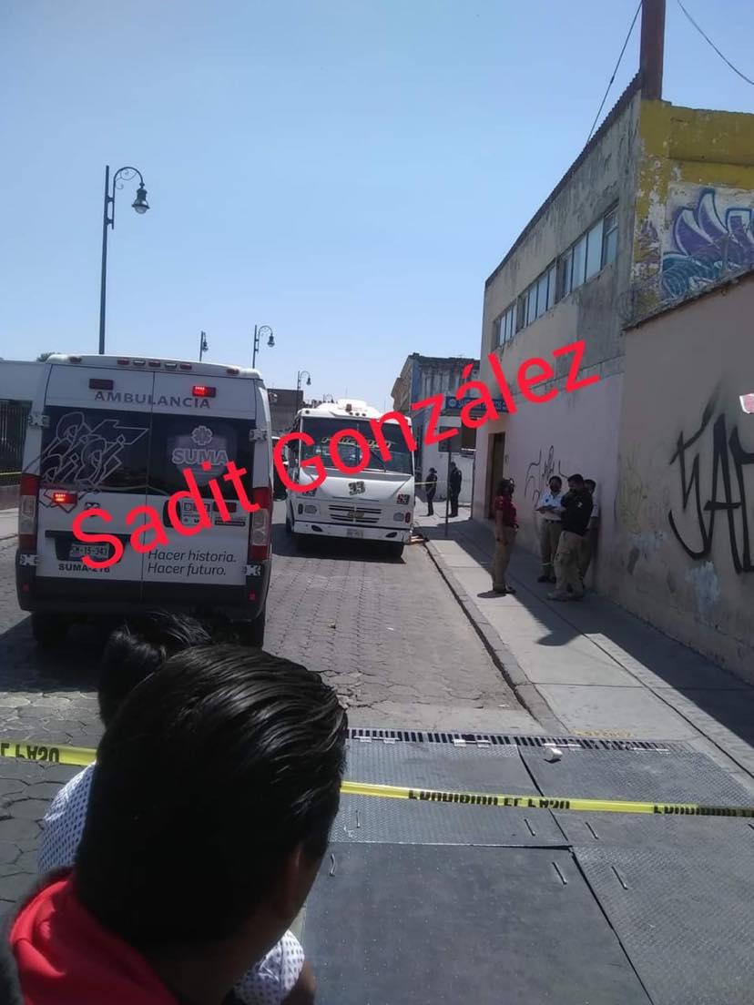 Atropellan y matan a una mujer en el centro de Puebla