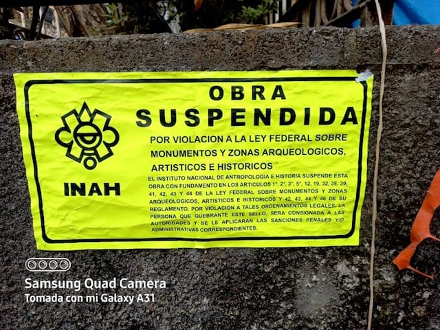 Suspenden obra del edil de Huauchinango, Gustavo Vargas