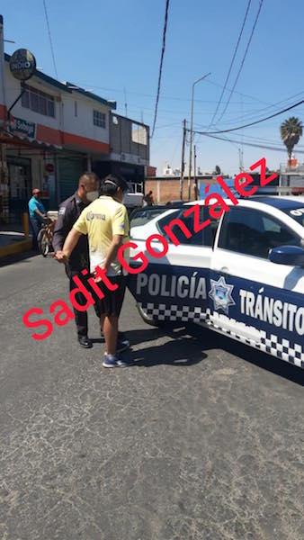 Ebrio conductor atropella a motociclista en Chachapa