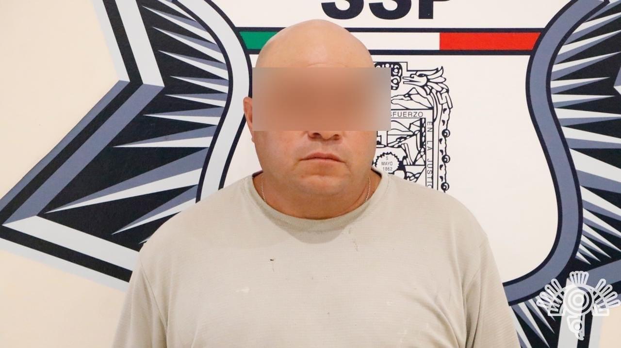 Presunto distribuidor de droga de Coronango, capturado por la Policía Estatal