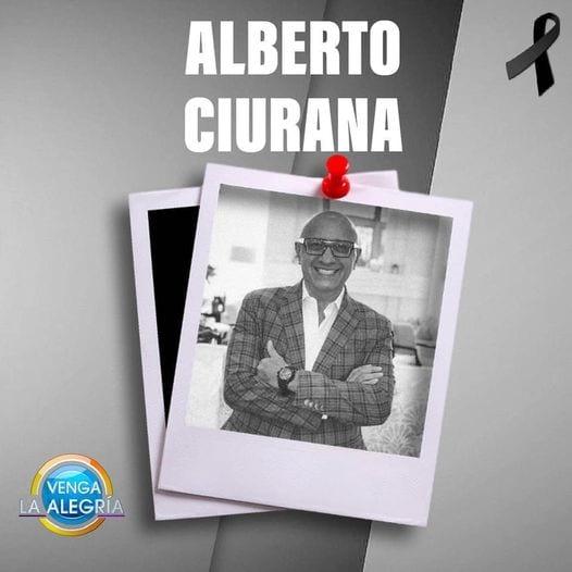 Trascendió a la eternidad Alberto Ciurana, director de Contenido y Distribución de TV Azteca
