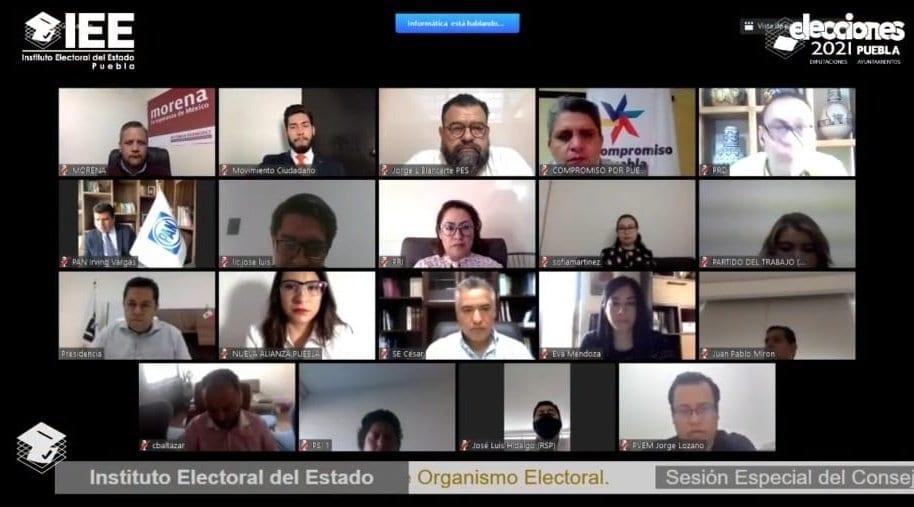 Presentan partidos políticos plataformas electorales ante el IEE