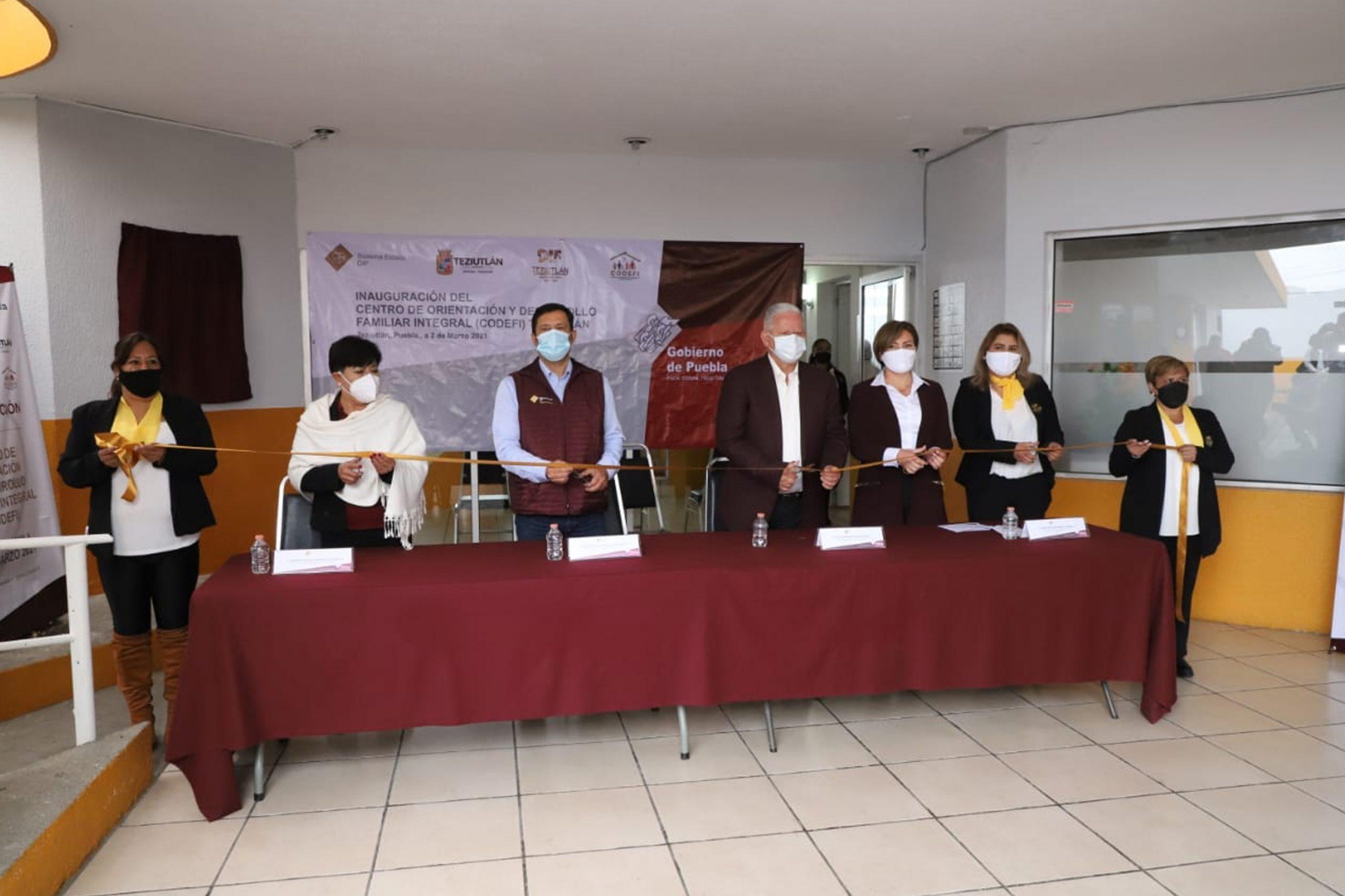 Atiende SEDIF a población vulnerable de Teziutlán con nuevo Centro de Orientación