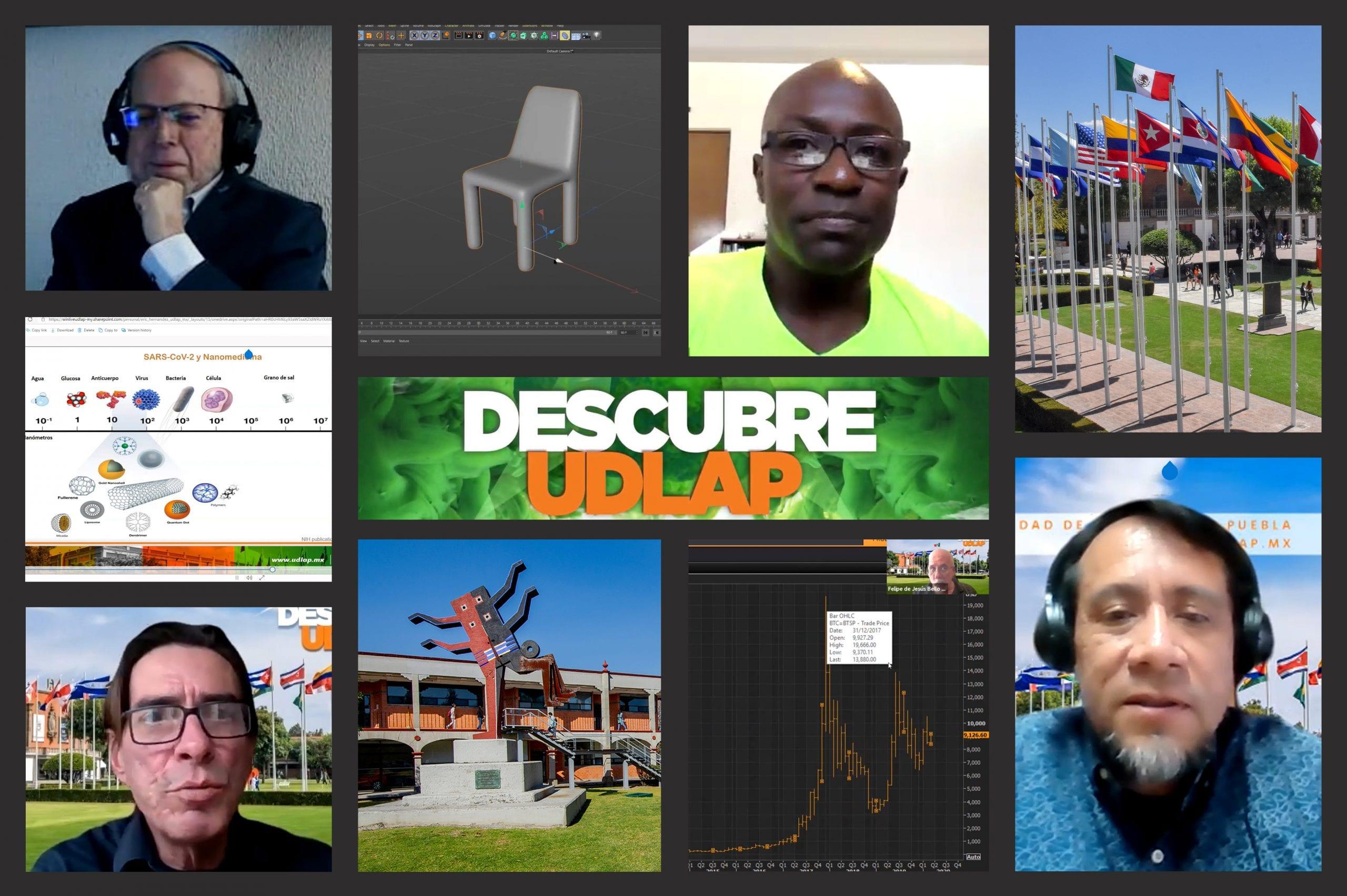 La Universidad de las Américas Puebla presenta su oferta educativa en el evento virtual Descubre UDLAP