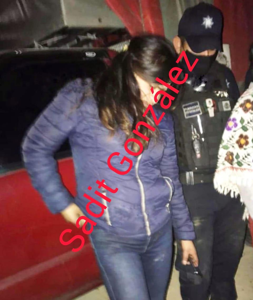Por robarse una moto casi los linchan en Zacapoaxtla