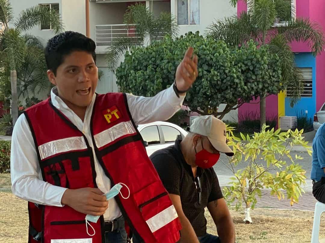 Coordinará Víctor Torres campañas de PT en Colima