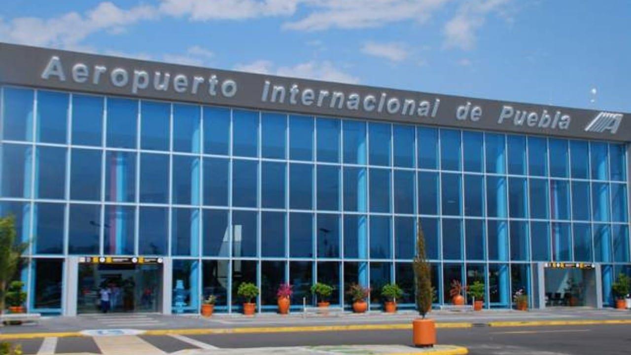 """Simulacro de """"Incendio en Planta de Combustibles"""" del Aeropuerto Internacional de Puebla"""