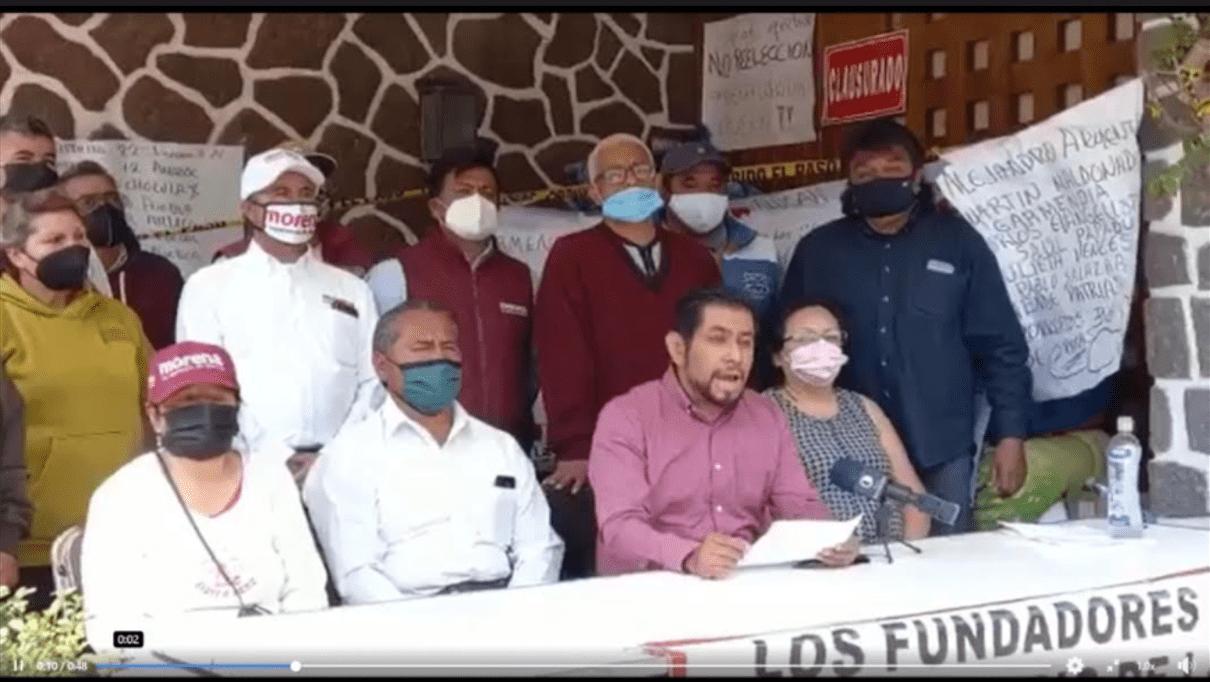 Consejeros de Morena acusan actos de corrupción e imposición de candidaturas