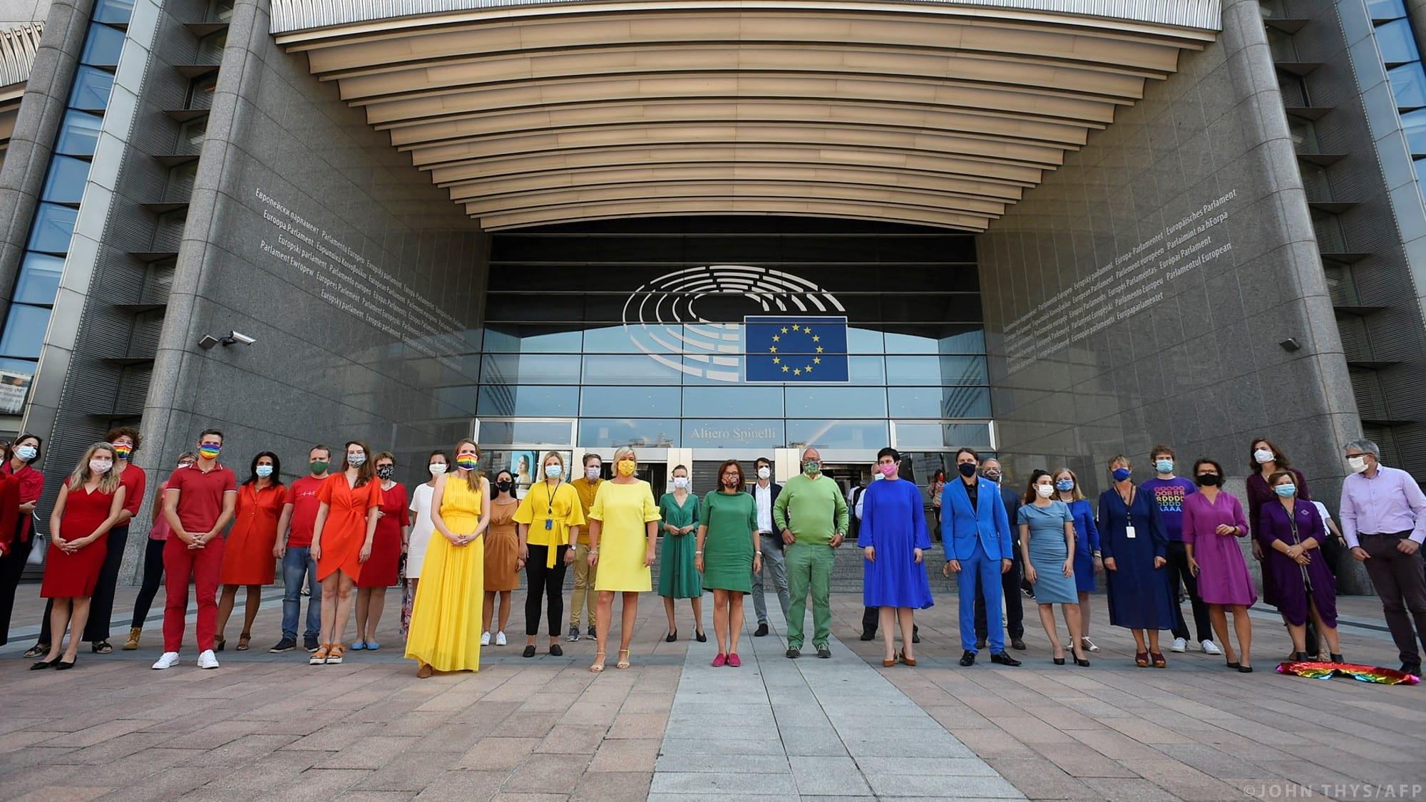 El Parlamento declara la Unión Europea «zona de libertad para las personas LGBTIQ»
