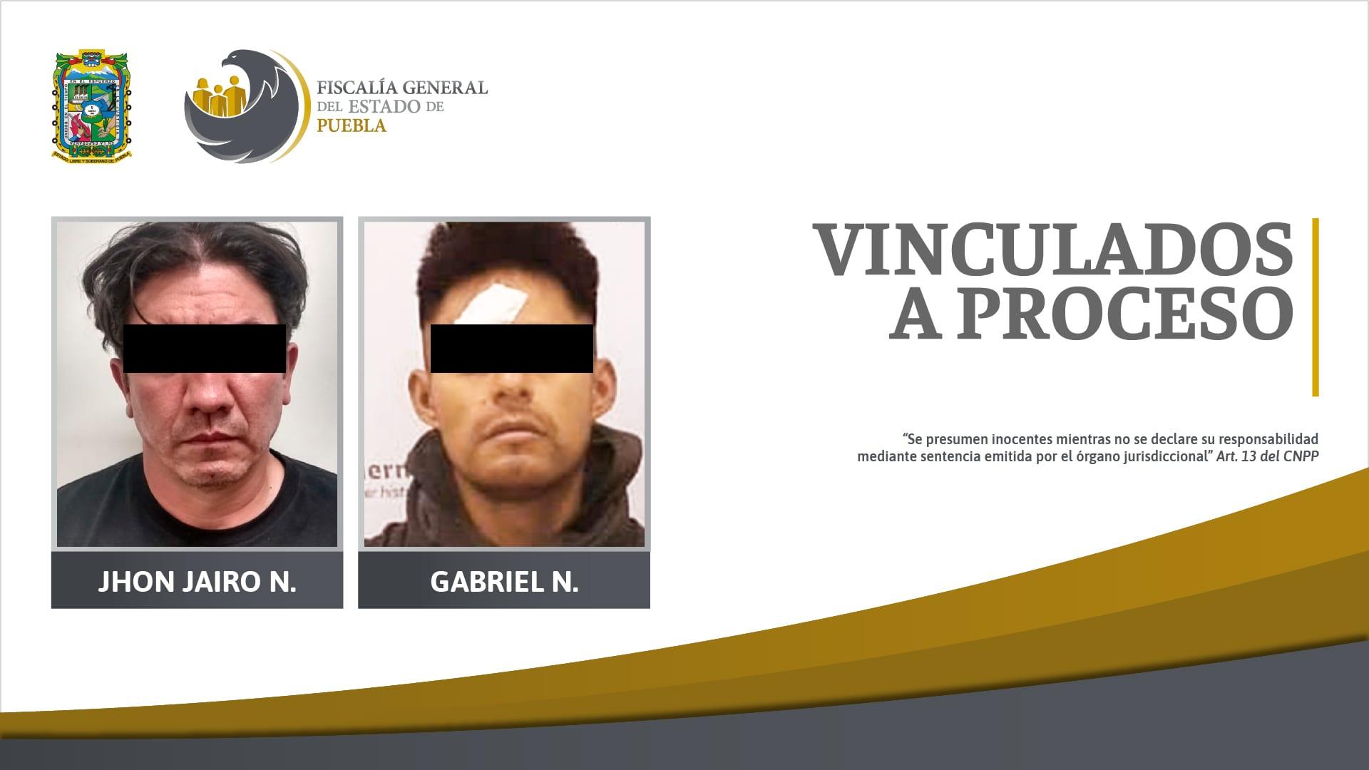Vinculados a proceso dos detenidos por posesión de drogas