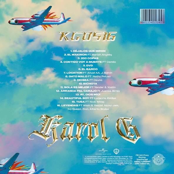 """KG0516"" es el tercer álbum de estudio de Karol G"