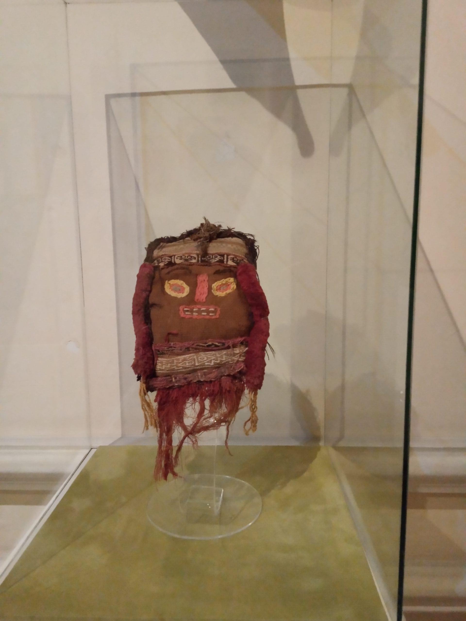 Máscaras de Perú en el Museo Nacional de la Máscara