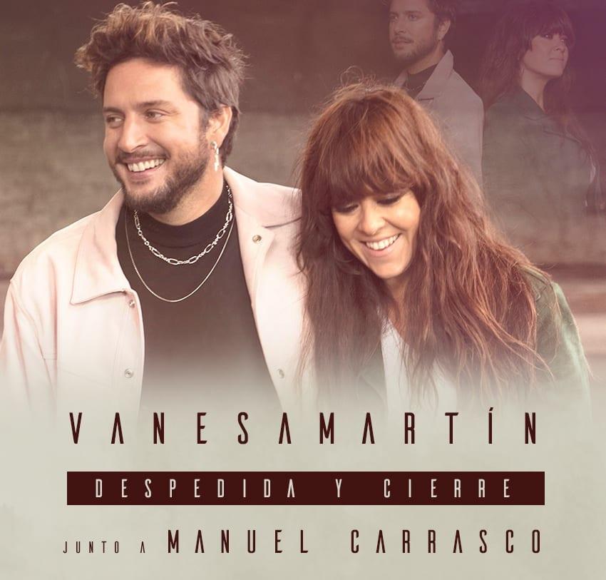 """""""Despedida y cierre"""" feat. Manuel Carrasco: nuevo sencillo de Vanesa Martín"""