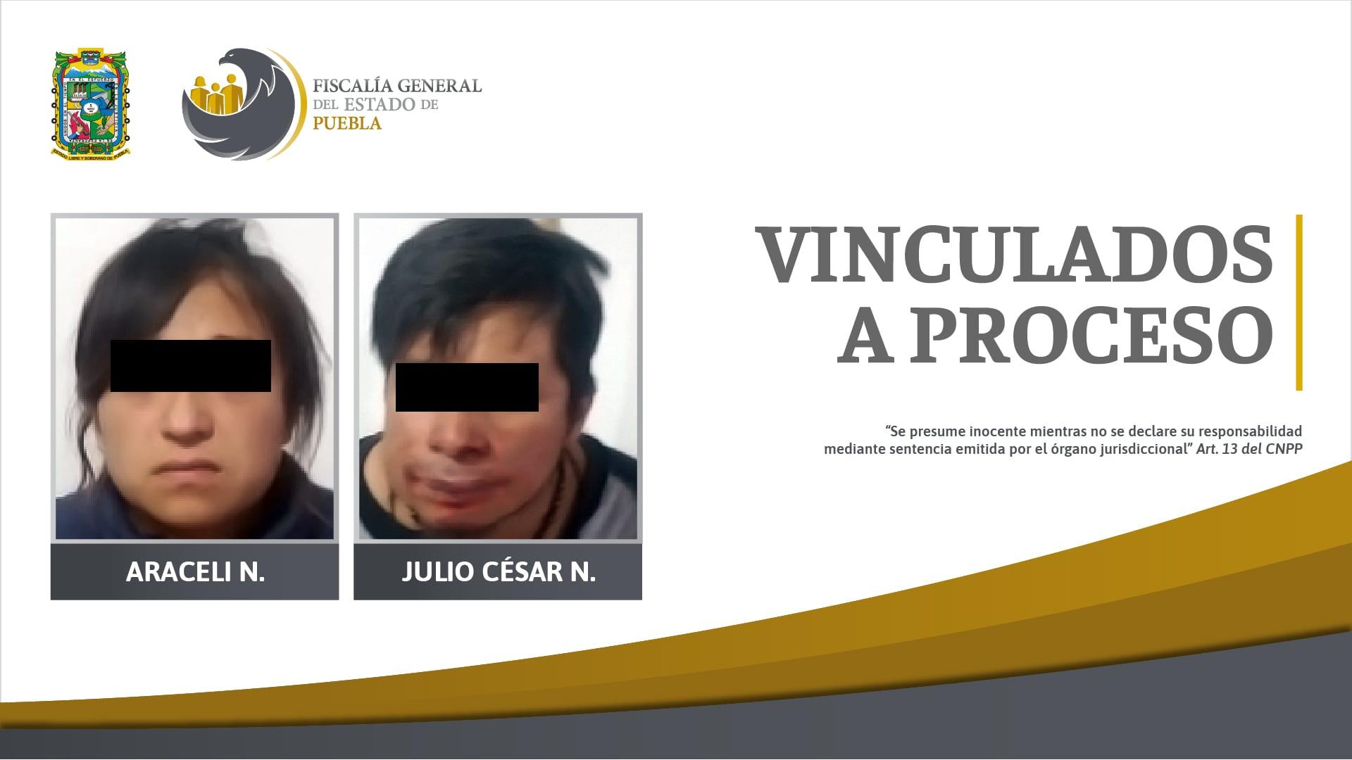Por robo de vehículo en Zacapoaxtla, pareja vinculada a proceso