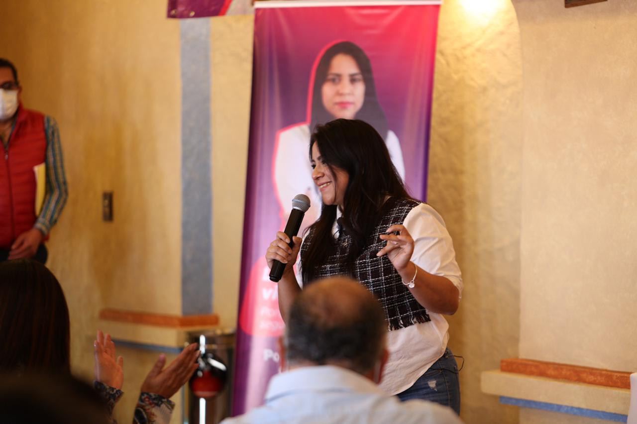 Autora de la Ley Olimpia Visita Chignahuapan