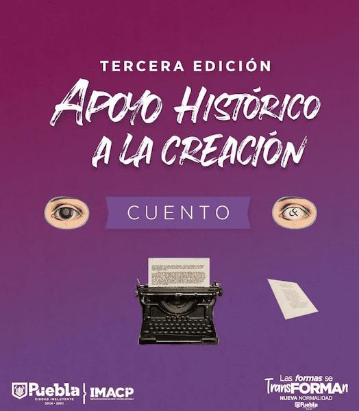 Nueva edición de apoyos a la creación literaria del IMACP cierra el 9 de abril