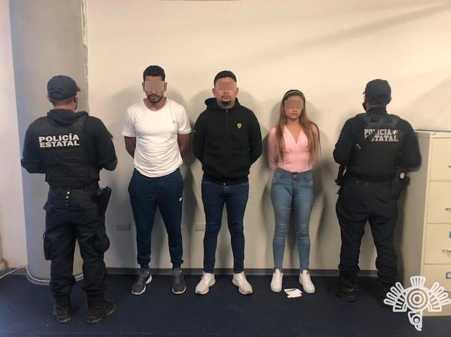 Presuntos asaltantes son capturados por Policía Estatal