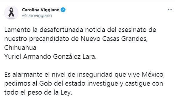 Condena PRI asesinato de precandidato a presidencia municipal en Chihuahua