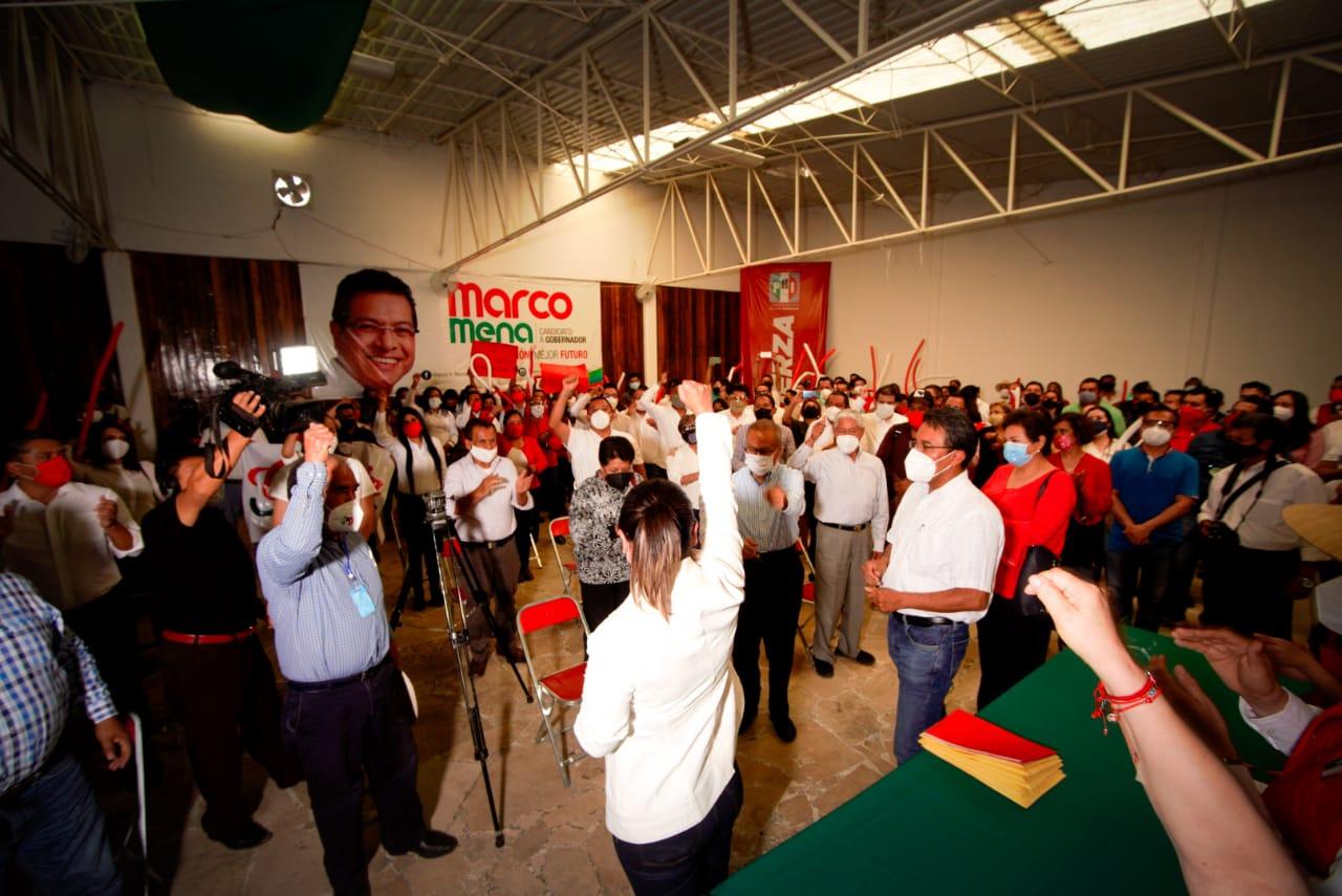 Se Registra Anabel Alvarado como candidata  del PRI a la Presidencia Municipal de Tlaxcala