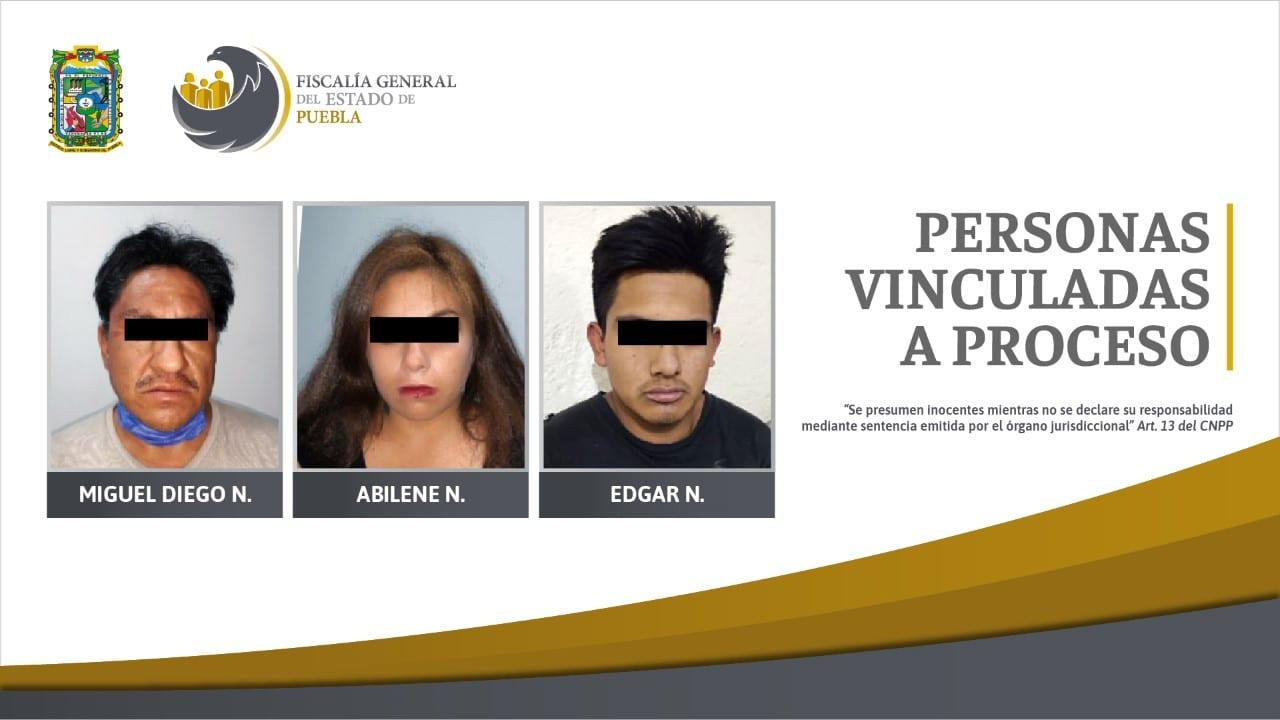 Detienen a 3 secuestradores de Cuautlancingo