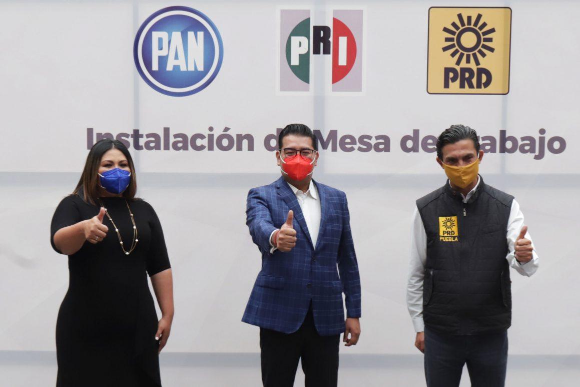El 4 de mayo inicia campaña el candidato a la presidencia municipal de Puebla por la coalición PRI-PAN-PRD