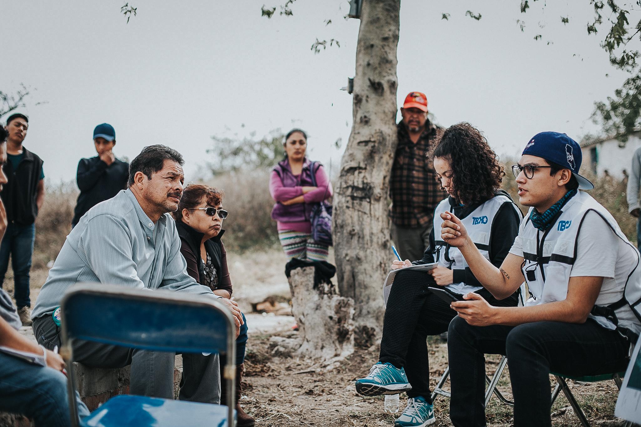 Por primera vez, el INEGI creará en conjunto con TECHO una Mesa de Coordinación para censar los asentamientos populares en México