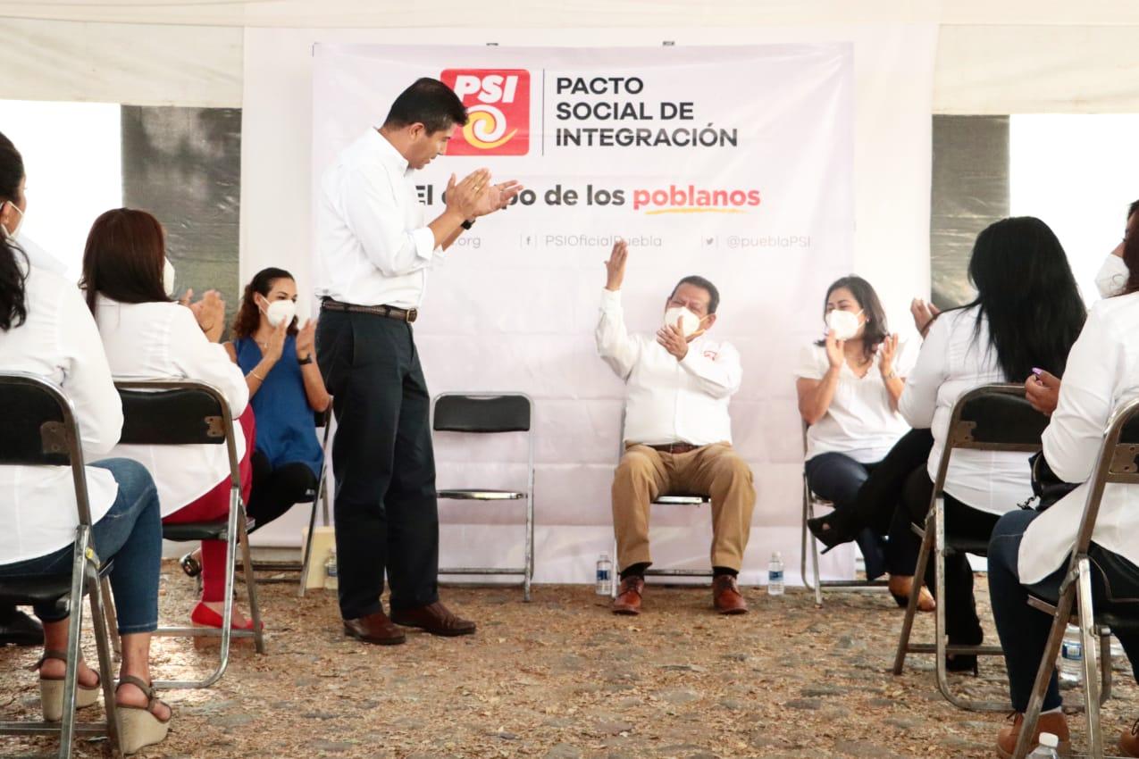 Fotonota: Eduardo Rivera Pérez se reunió con el presidente del PSI