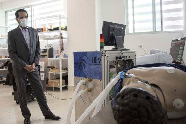 Científicos de Altas Energías de la BUAP desarrollan ventilador mecánico