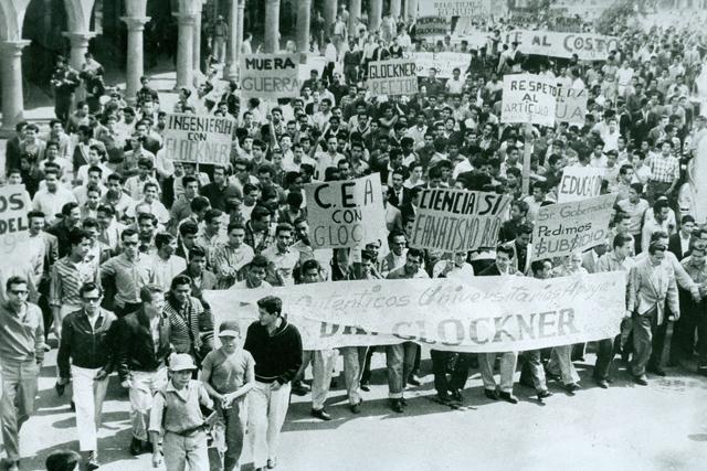 En el movimiento de Reforma Universitaria de 1961 no había hombres, todos éramos chamacos; tampoco comunistas, éramos liberales: Cristina Aguirre