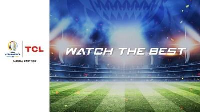 TCL amplía su patrocinio global de la CONMEBOL Copa América 2021
