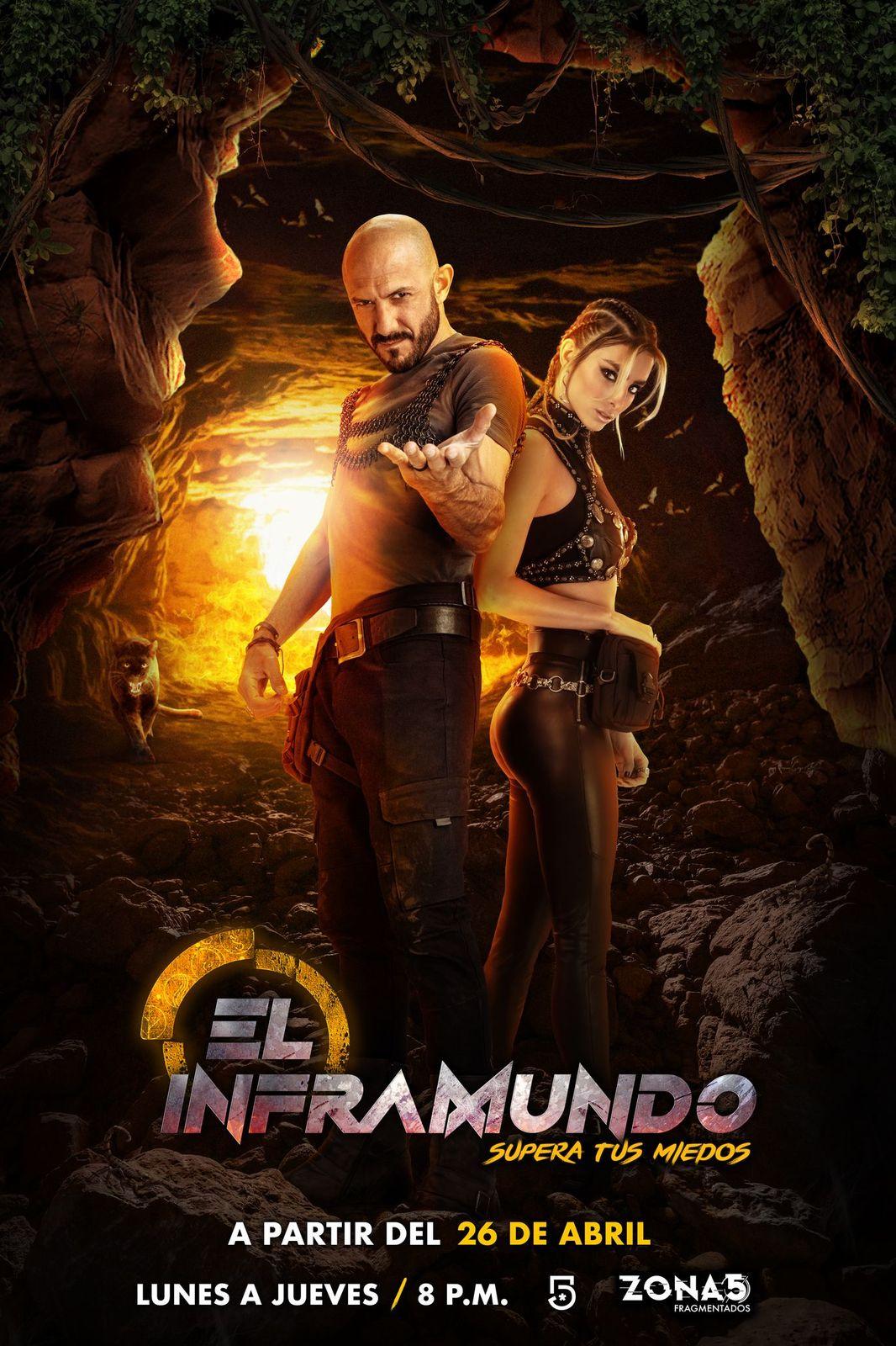 """""""El Inframundo"""": reality televisivo de competencia en el que famosos tendrán que superar aterradores retos"""