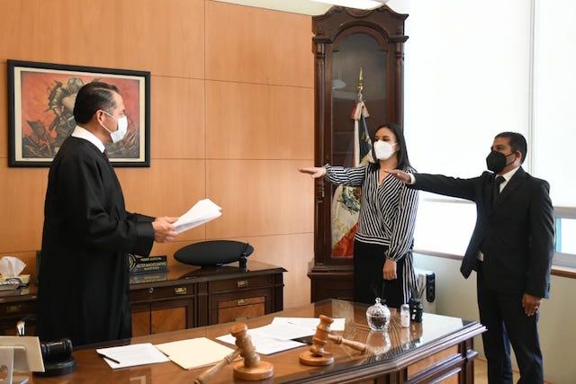 TSJ aprobó nombramientos de jueces y cambios de adscripción en Puebla