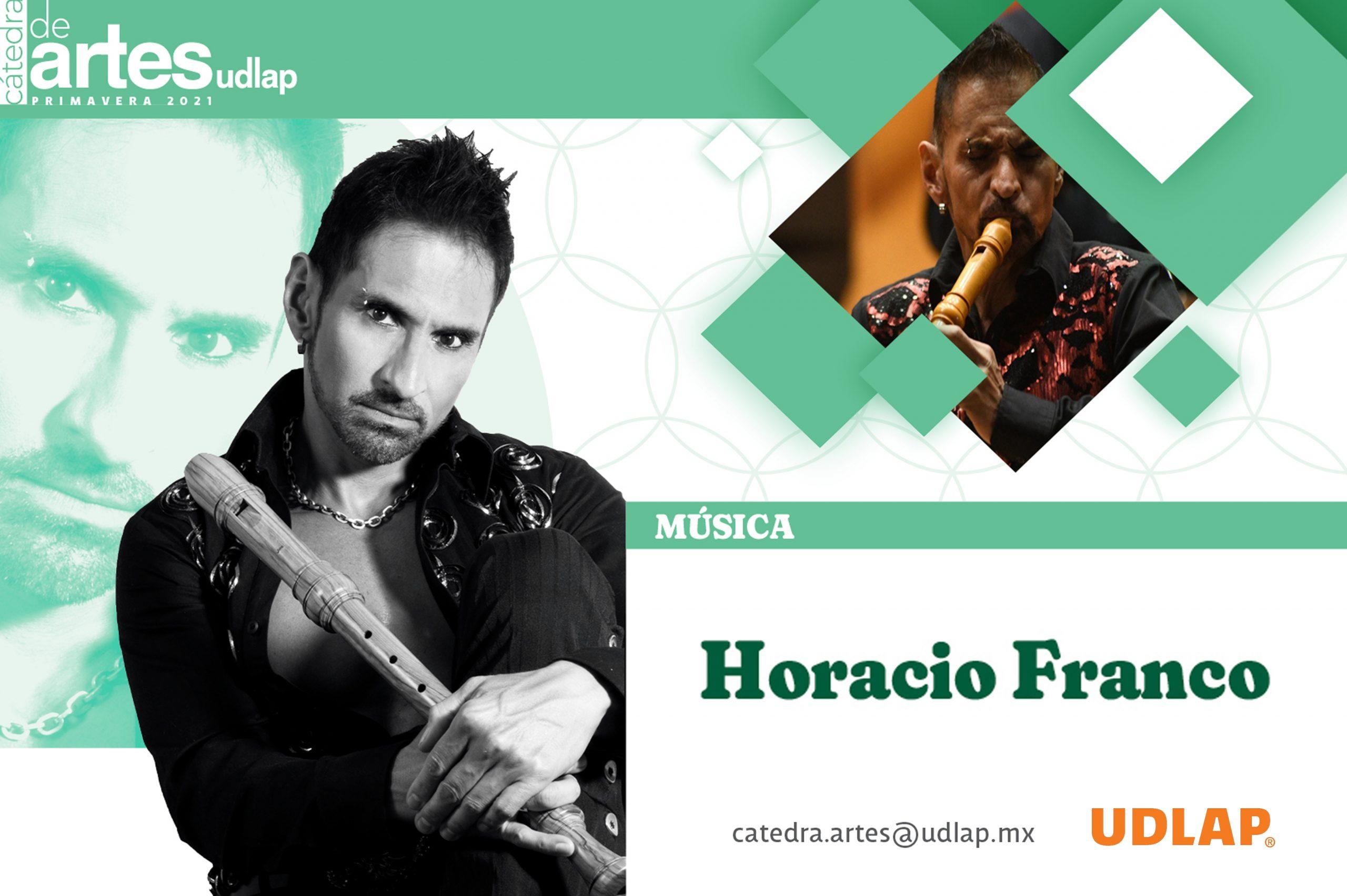 La UDLAP recibe al reconocido músico Horacio Franco en su Cátedra de Artes