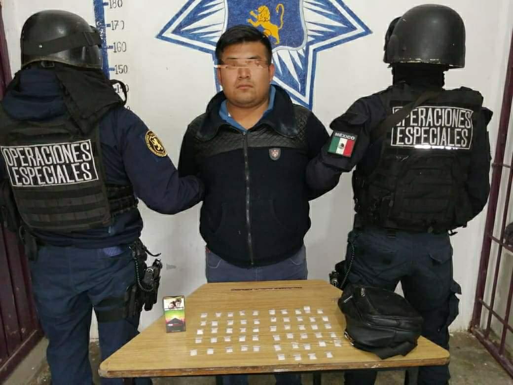 Desde Huauchinango: Atrapan al principal narcomenudista del municipio