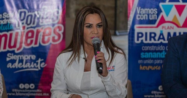 Se han impuesto 77 recursos legales contra la dirigencia estatal del PAN, indicó Blanca Jiménez