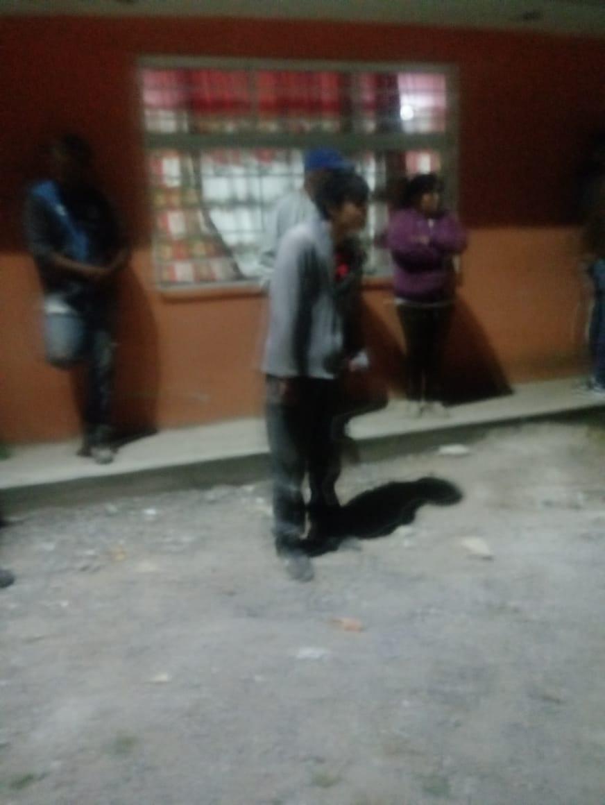 Detienen a presunto ladrón en Chachapa