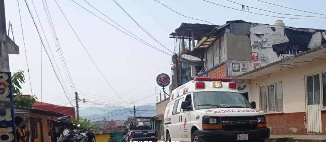 La tarde de este miércoles, un hombre fue lesionado con un machete en la Colonia La Mesita en Huauchinango